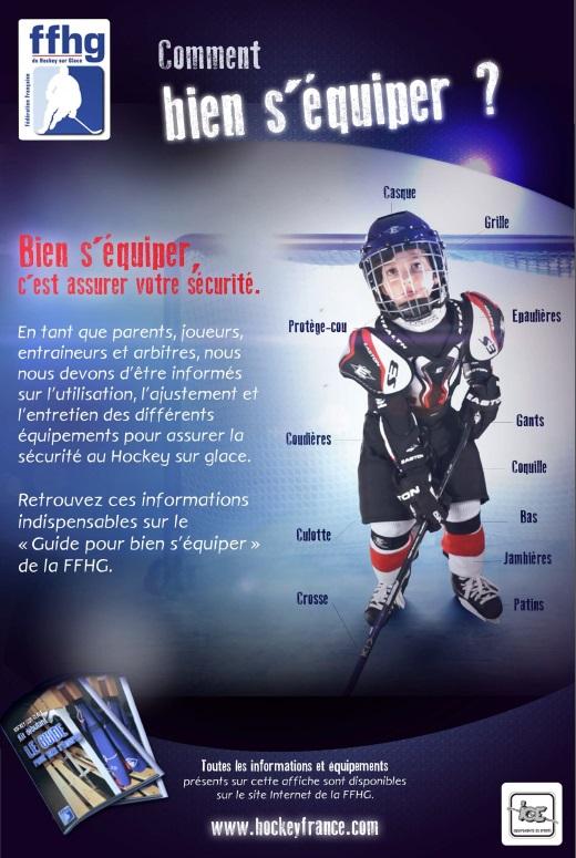 équipement joueur hockey sur glace